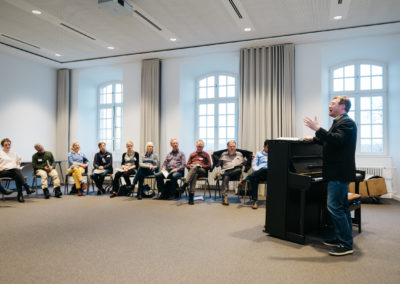 "Im Workshop ""Offenes Singen"""