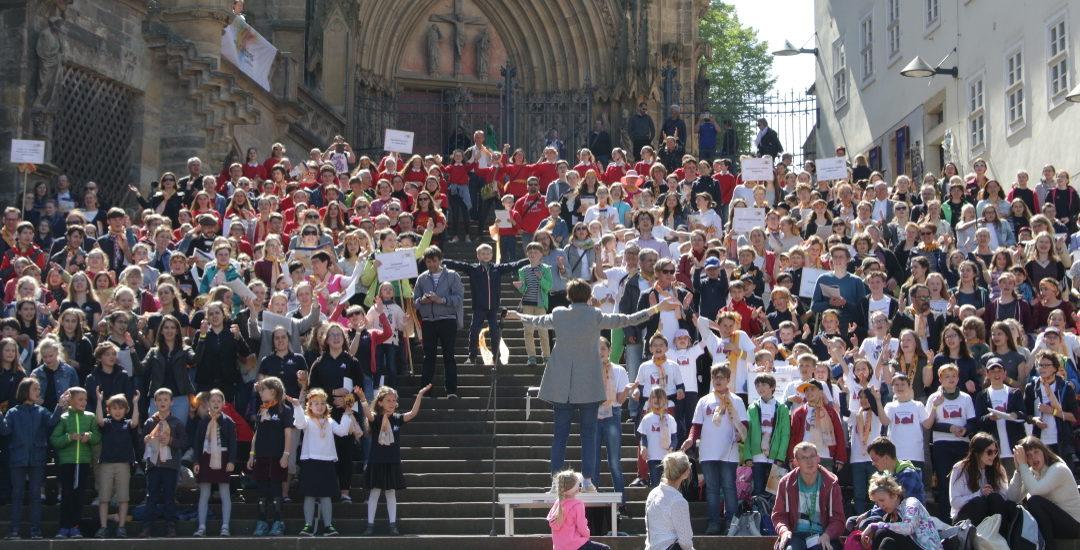 Chorfest der Pueri Cantores in Erfurt