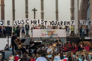 Chortag der Pueri Cantores im Bistum Trier mit über 500 Kindern und Jugendlichen