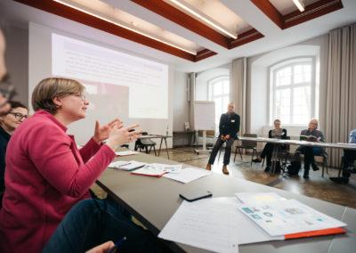 Unsere Vizepräsidentin Judith Kunz im Workshop von Dr. Michael Kroll