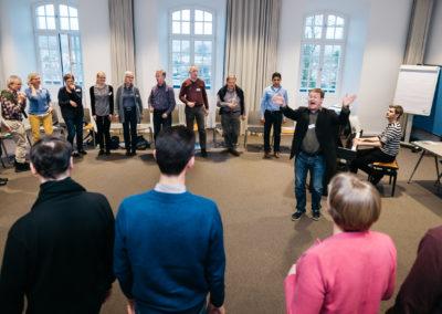 Offenes Singen mit Jan Schuhmacher, Klavier: Lukas Stollhof
