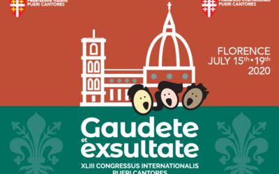 Internationales Chorfestival, 15. – 19. Juli 2020, Florenz