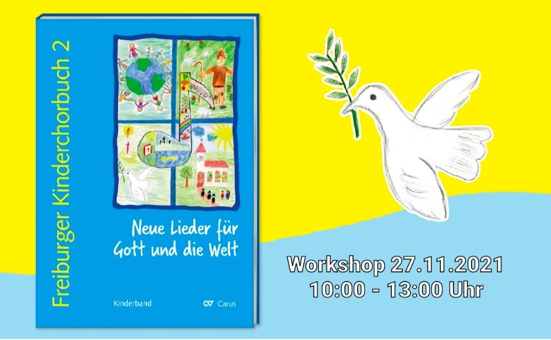 Jetzt anmelden: Workshop zum Freiburger Kinderchorbuch 2